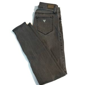 Guess Gray Skinny Jeans Sz 27